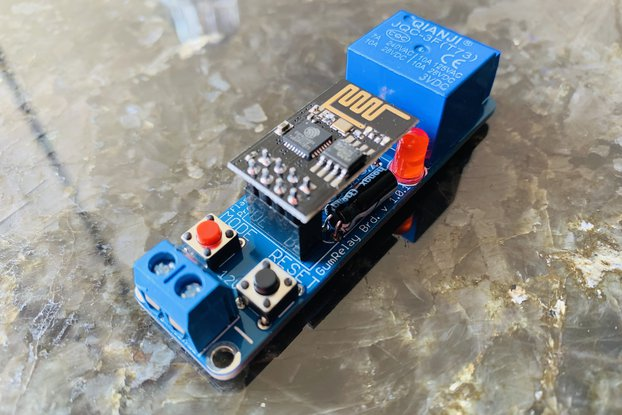 WIFI IoT Relay for Smarthome based on ESP8266