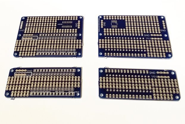 Prototyping Shields for Arduino MKR