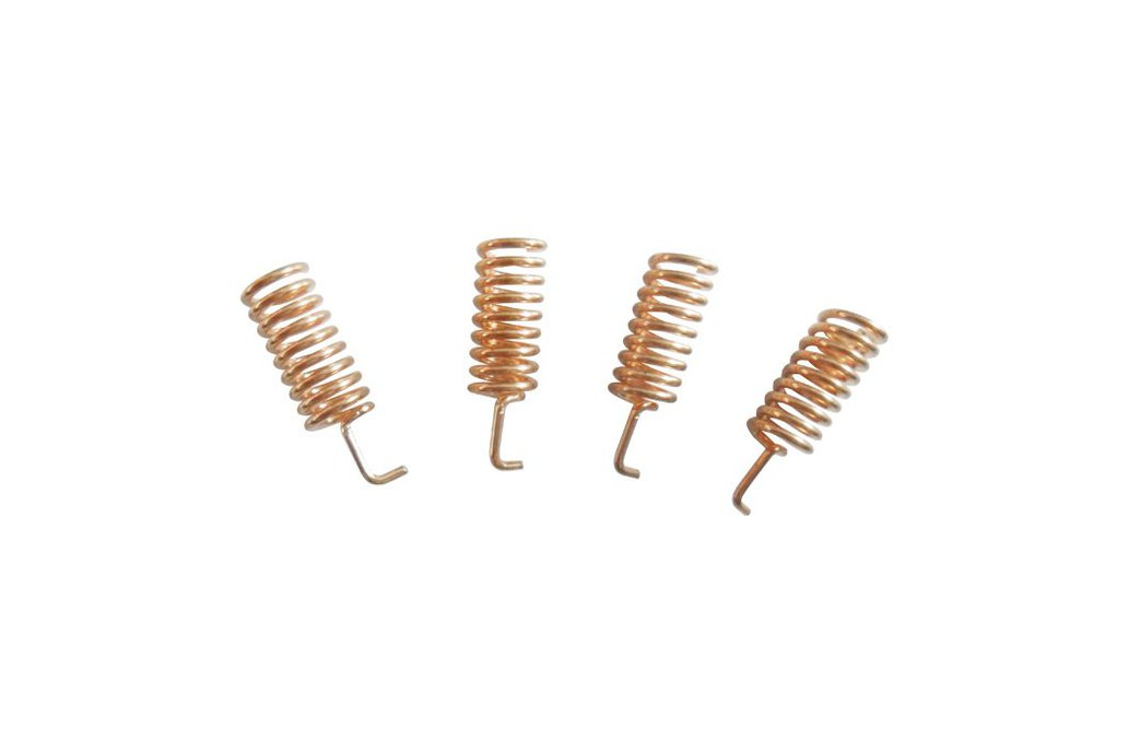 10pcs/pack  SW868-TH13 Copper spring antenna 2