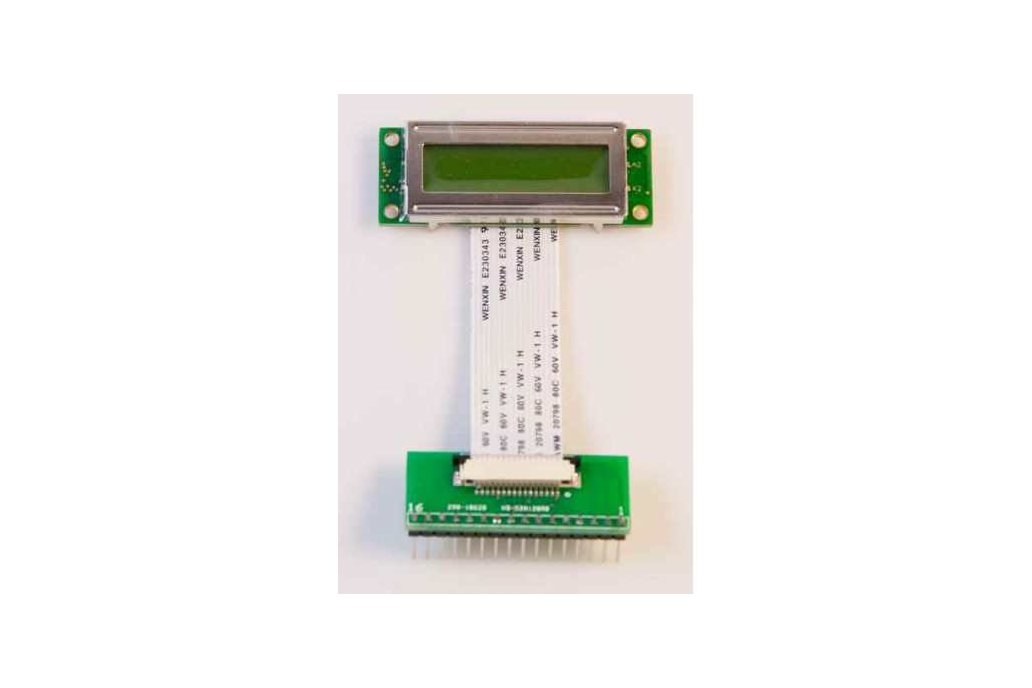 16x2 Character LCD w/Backlight and FPC Breakout 1