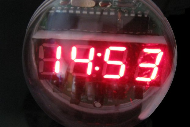 DIY Lampshade Remote Clock Electronic Clock Kit