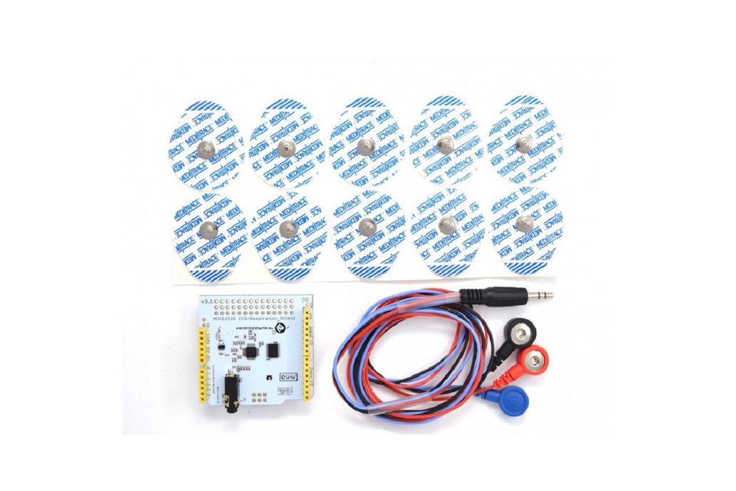 ADS1292R ECG/Respiration shield for Arduino-v2 2