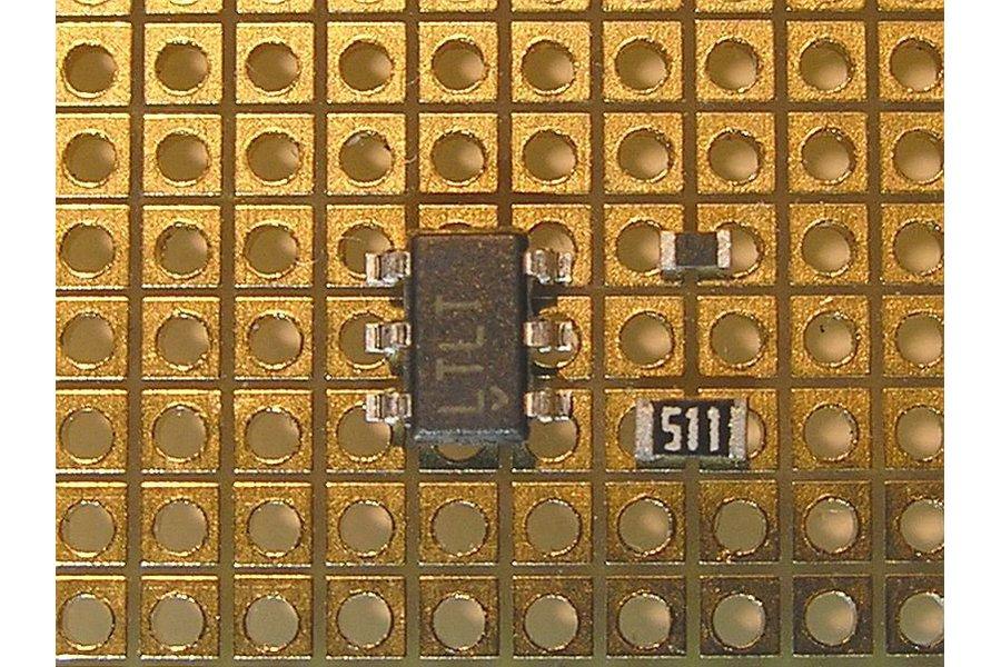 1.27mm Pitch SMD Breadboard (high quality)