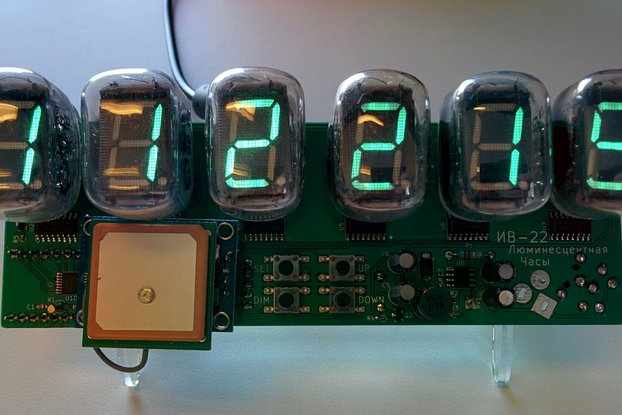 IV-22 VFD Clock Kit