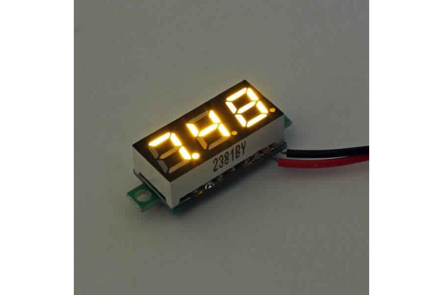 Geekcreit® 0.28 Inch 2.5V-30V Mini Digital