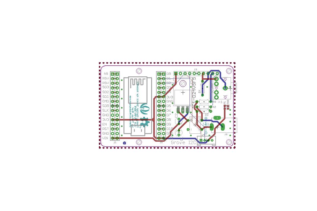 NodeMCU Energy Monitor (PCB/Kit) 7
