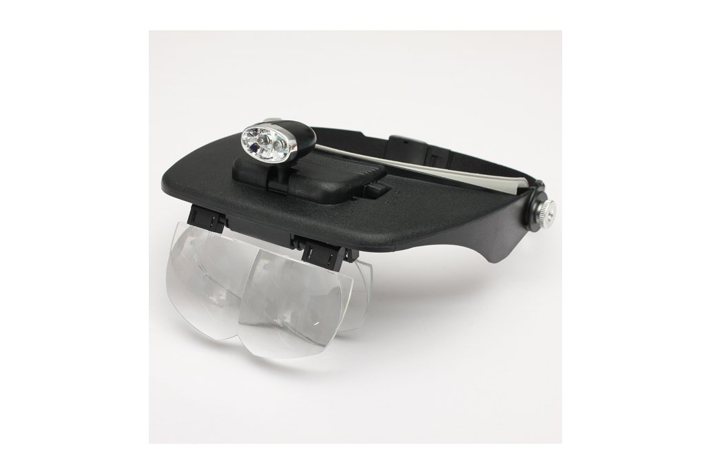 LED Head Light Magnifying Glass Loupe 1