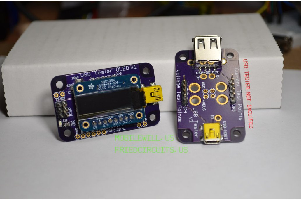 USB Tester OLED Backpack with Display 1