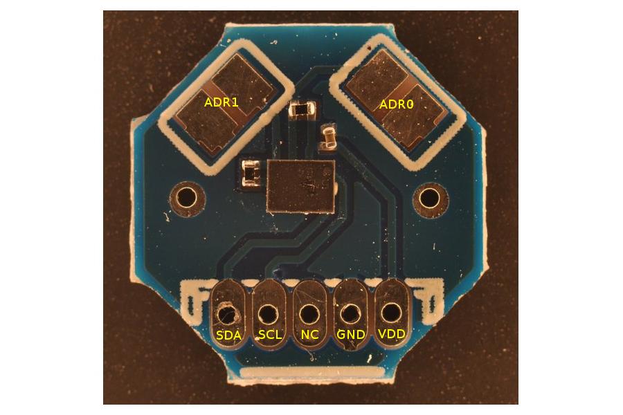 MyOctopus i2c Humidity / Temperature Sensor Board