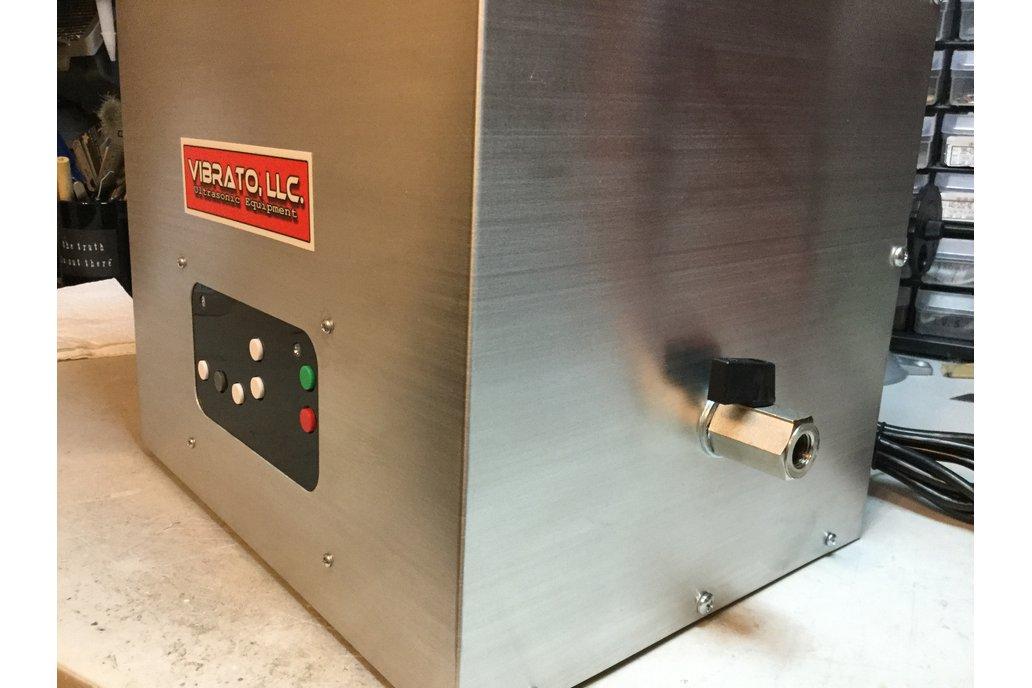 10 Quart 80KHz Ultrasonic Cleaner 7