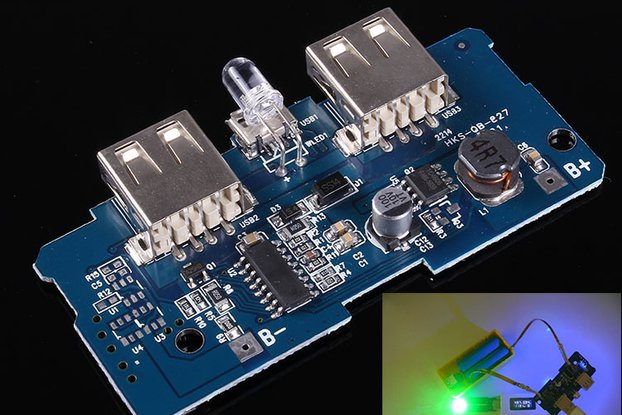 Double USB Power Bank Charger Boost Module(8903)