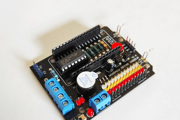 NodeMCU ESP8266 Motor Shield