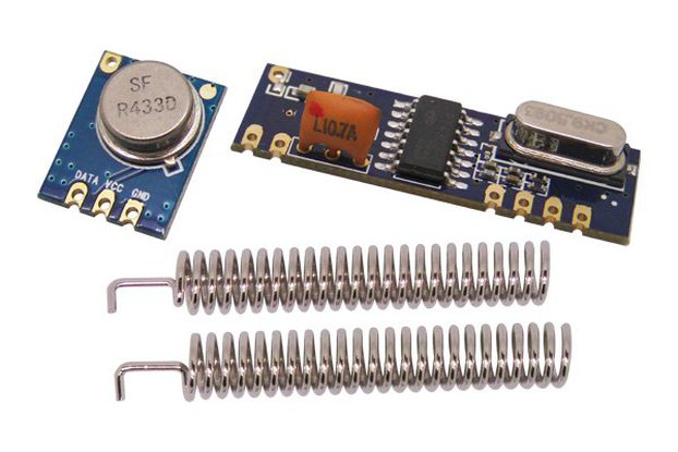 433/315 MHz ASK Transmitter & Receiver Module Kit