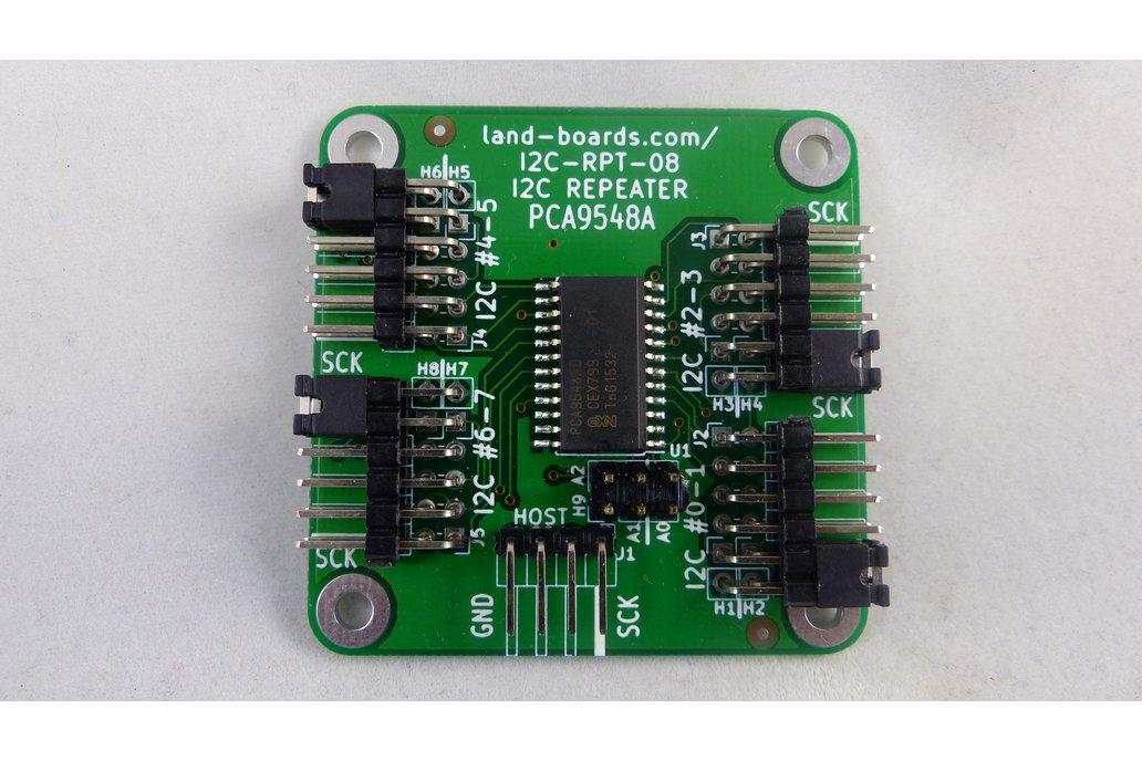8-Channel I2C Repeater/Multiplexer (I2C-RPT-08) 1
