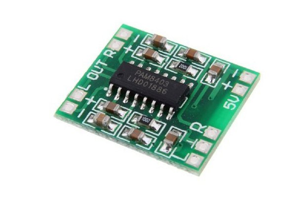 5pcs PAM8403 Miniature Digital USB Power Amplifier