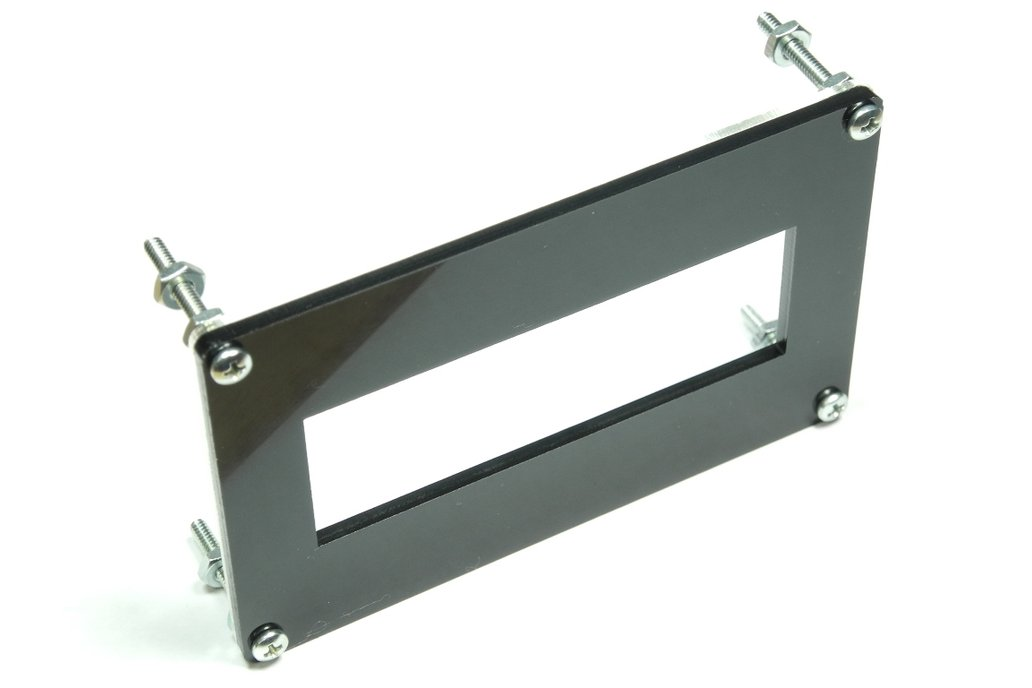 20x4 LCD Bezel with Clear Backplate 1