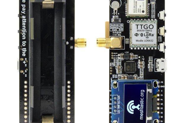 LILYGO® TTGO T-Beam V1.1 ESP32
