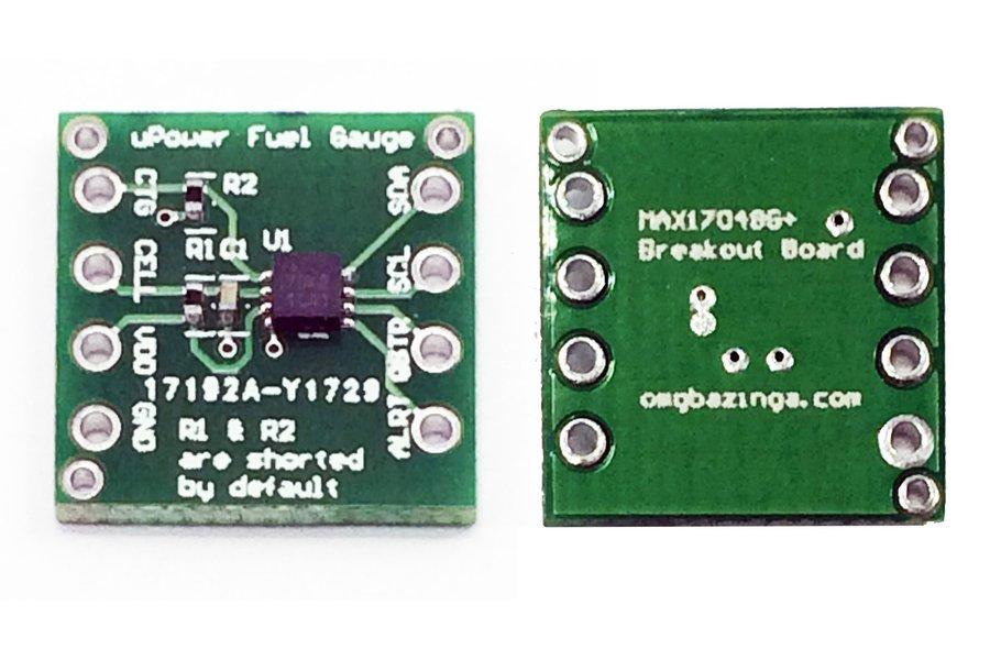 Maxim Micropower MAX17048G+ Fuel gauge breakout