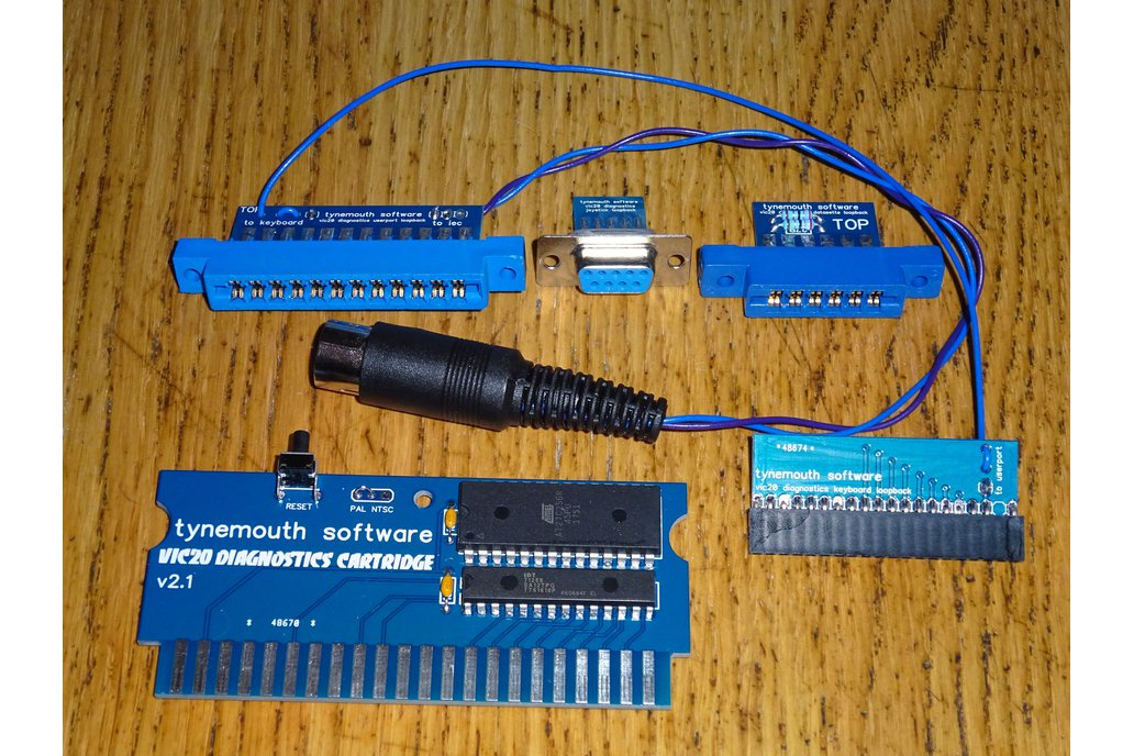 VIC20 Diagnostics kit 1