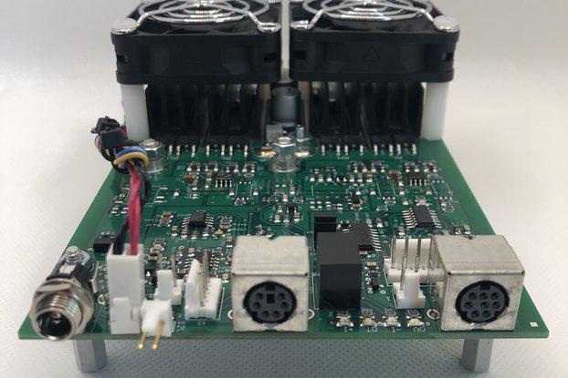 H-Bridge, 36V, 50A, 1500W, Integrated Sensors