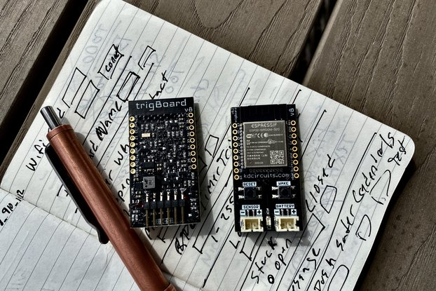 trigBoard - Ultra Low Power ESP32 IoT Platform
