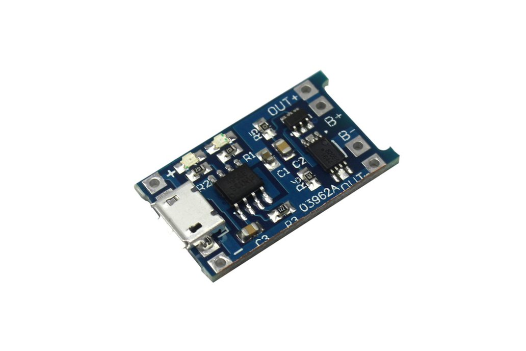 18650 Lithium Battery Charging Board 1