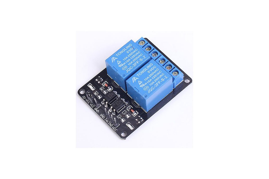 5V 2-Channel Relay Module for Arduino(1647) 1