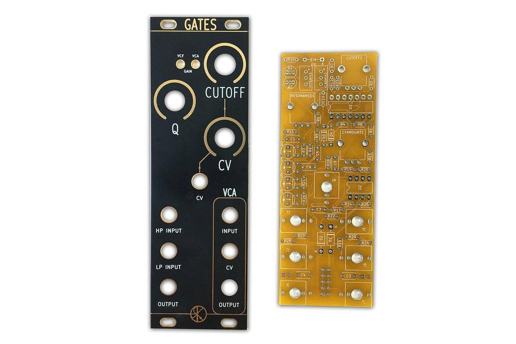 GATES - VCF / VCA PCB Set by Rat King Modular 1