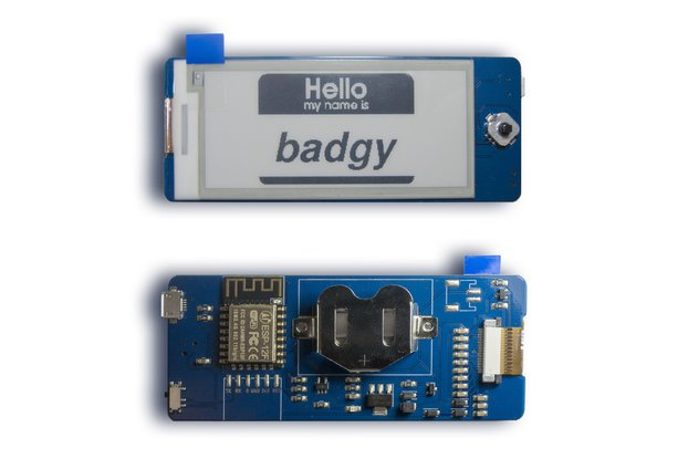 Badgy - IoT Badge