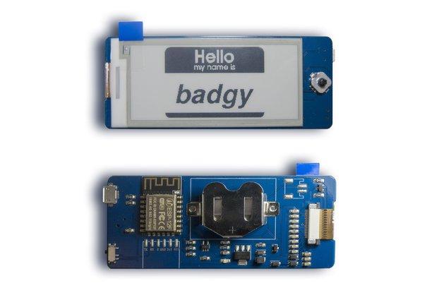 Badgy - IoT Badge
