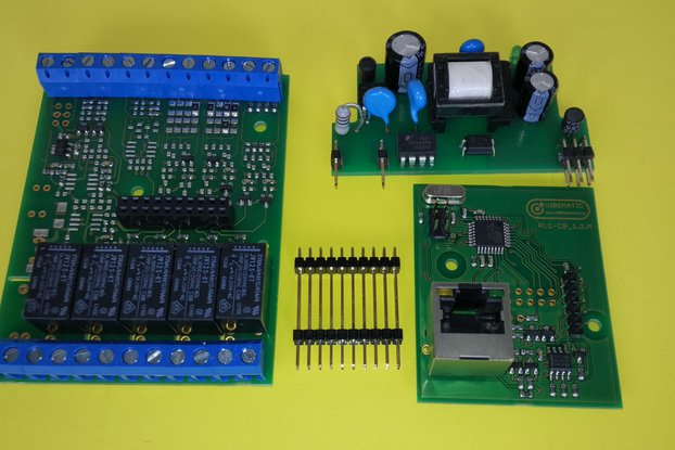 Pragmatic_S, Atmega328 based, PLC/Smart Interface