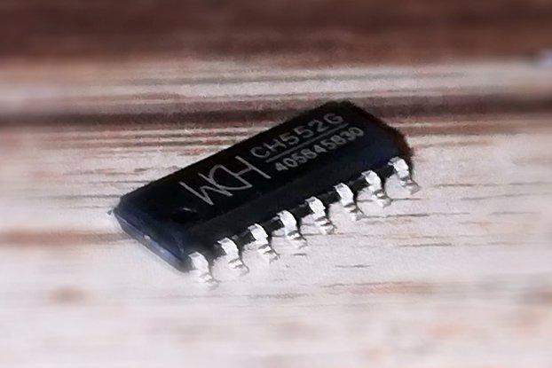WCH CH552G E8051 8-BIT USB MCU SOIC16