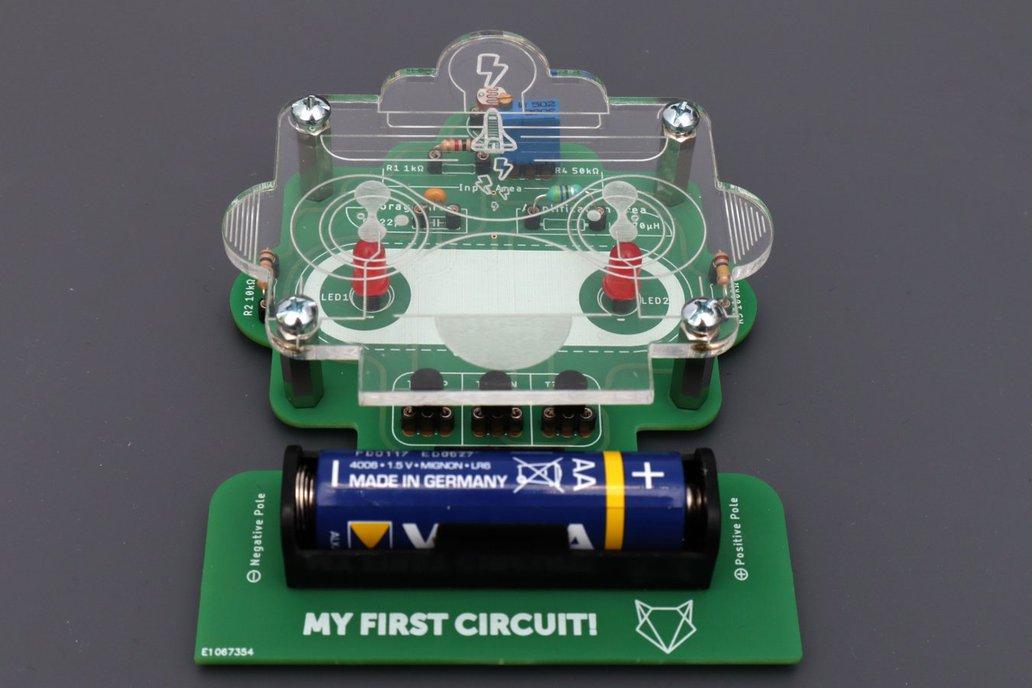 My first circuit kit 1