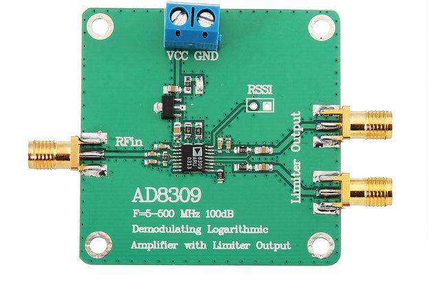 Detector Logarithmic Amplifier Power Meter