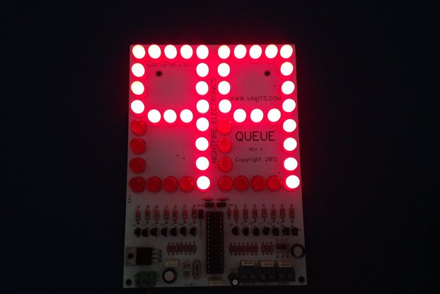 "6"" LED Scoreboard Kit - Up/Down Counter Kit"