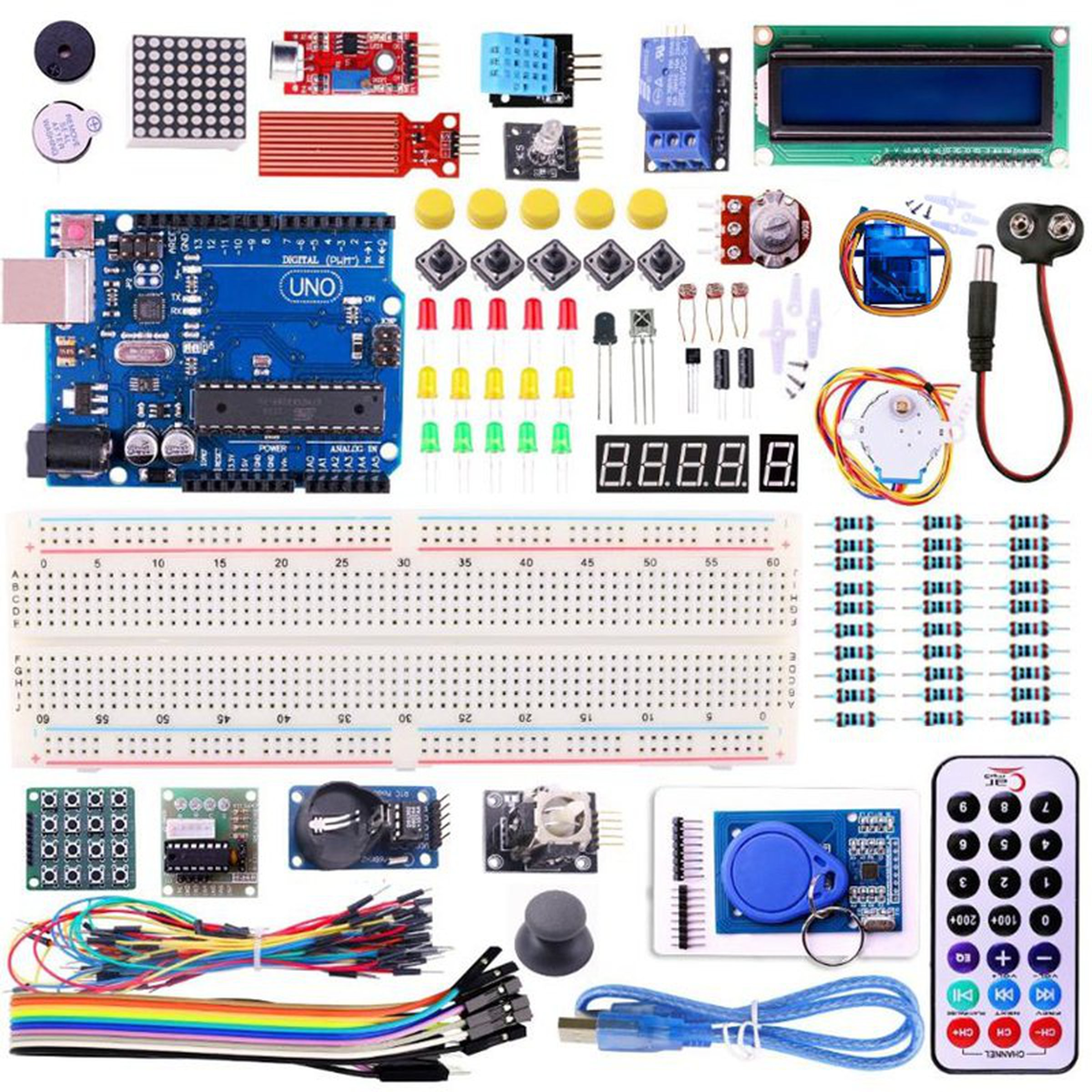 Arduino uno r rfid starter kit from robotart on tindie