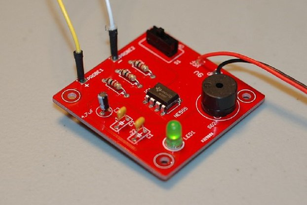 Continuity Tester Complete Kit (PCB + parts)