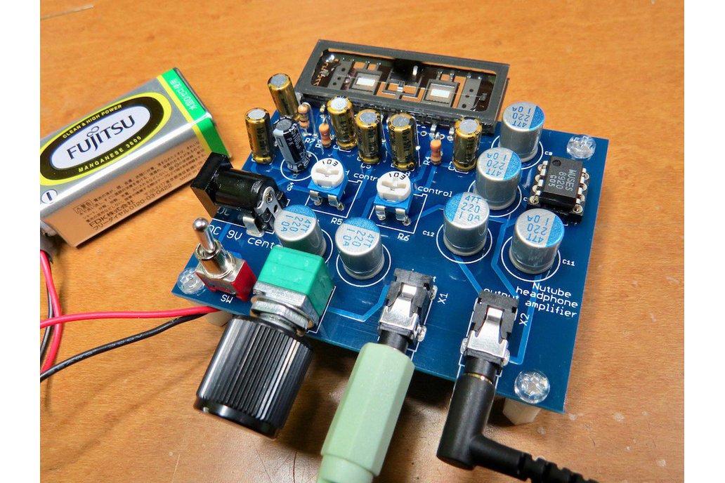 Nutube amp kit, a vacuum tube in new century REV2 1