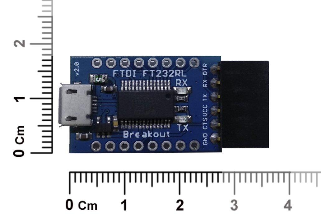 FTDI Breakout USB to UART/Serial (Genuine FT232RL) 2