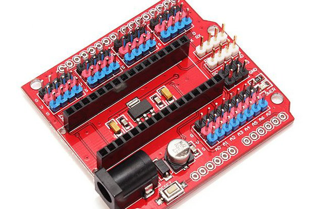 Multi-Function Funduino Nano Shield
