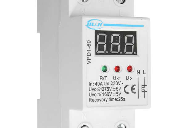 VPD1-60 40A 220V Over and Under Voltage Protective