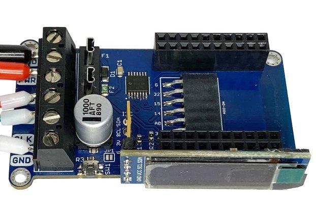 WLED Wemos mini shield board for addressable LEDs