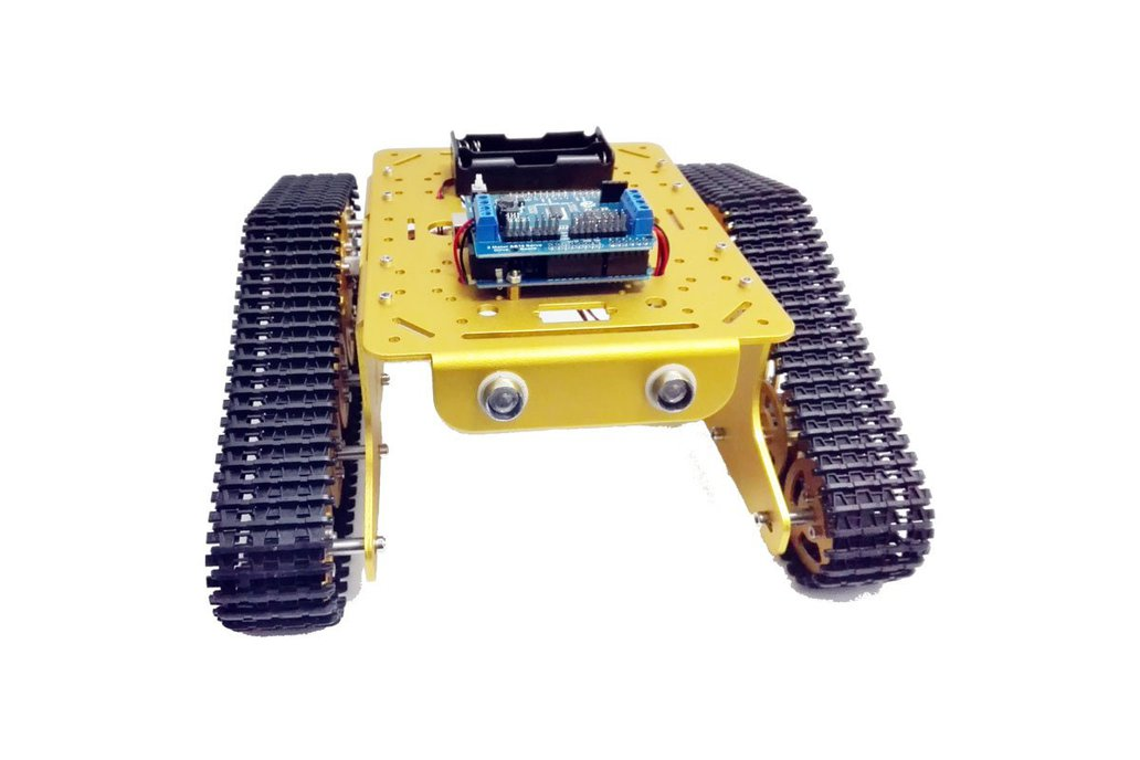 Wireless WiFi metal tank car chassis with arduino 1