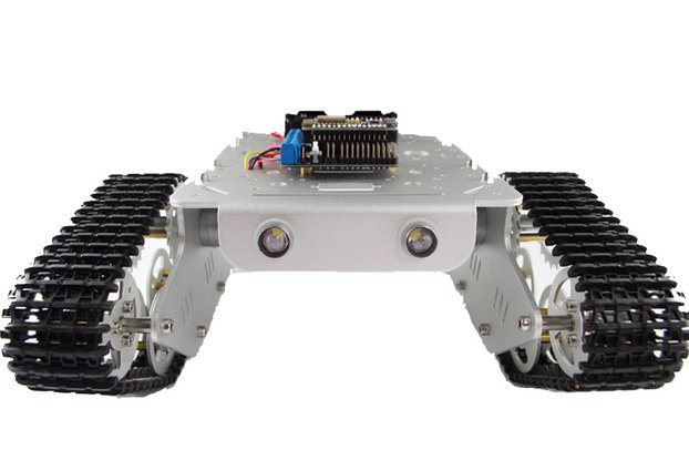 NodeMCU WiFi RC Metal Robot Tank Chassis T300