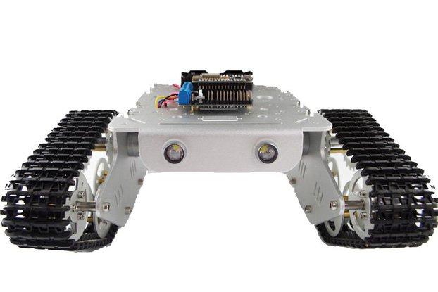 NodeMCU WiFi RC Metal Robot Tank Chassis T300