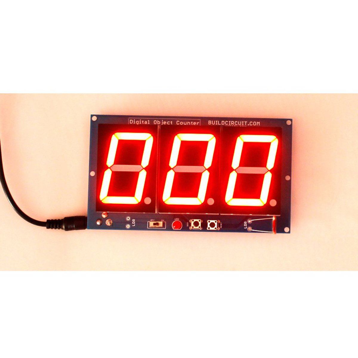 Digital Objects Counter with 1.8 inch displays from BuildCircuit on Tindie