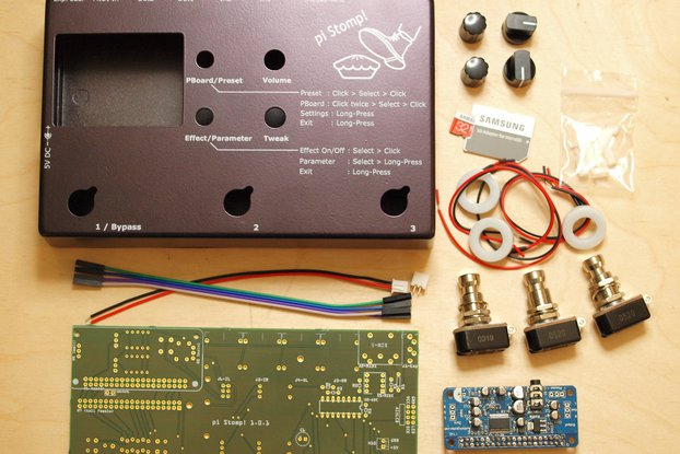 pi-Stomp! DIY Multi-Effects - Partial Parts Bundle