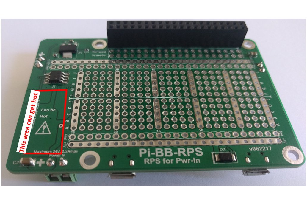 Pi-BB-RPS: DC-DC converter, RPS and more for Pi 8