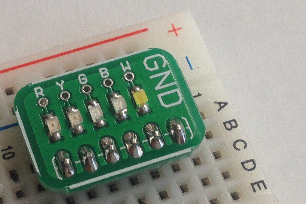 Surface Mount LED Board: Assembled or Kit 1