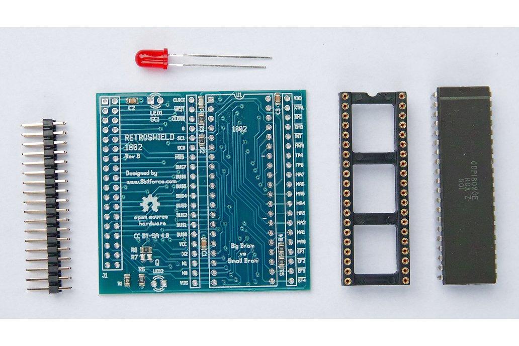 RetroShield 1802 for Arduino Mega 1